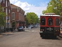 Туристский автобус на Кинг-стрит