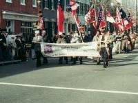 Парад в честь дня президента. Конфедераты