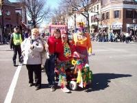 На параде в честь св. Патрика