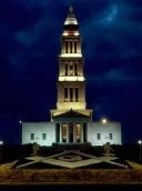 Мемориал ночью