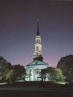 Мемориальная часовня ночью