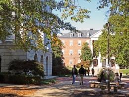 Одна из университетских библиотек