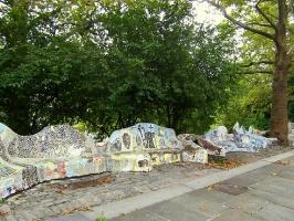 Мемориал У.С. Гранта. Скамьи