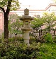 Сакура-сквер возле церкви Риверсайд