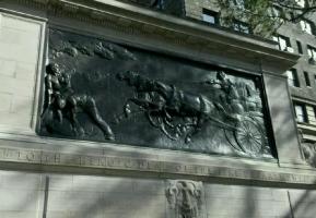 Мемориал пожарным. Деталь