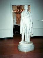 Статуя Джефферсона внутри Ротонды