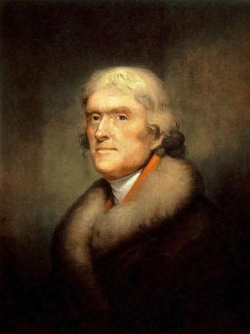 Портрет Джефферсона работы Рембрандта Пила